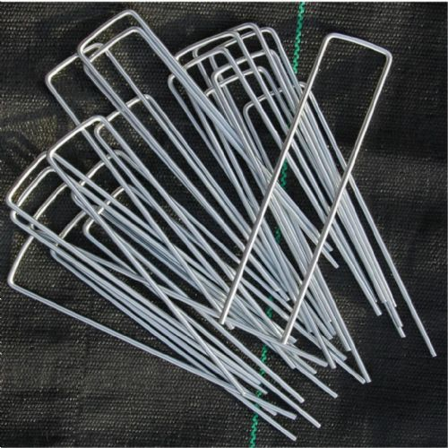 Metal Pegs | U Shaped | Galvanised | For Netting, Membrane & Fleece